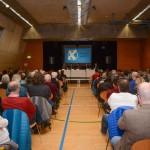 Ca. 250 Personen folgten gespannt der Diskussion