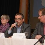 v.l.n.r.: Renata Wieser, Josef Walch, Moderator Reinhold Gärtner